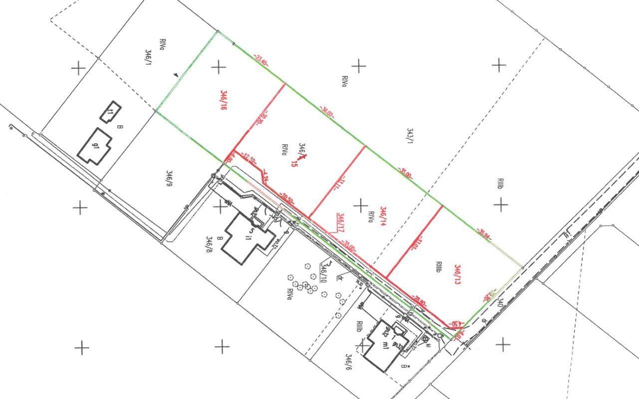 Działka budowlana w Robakowie 1107 m2