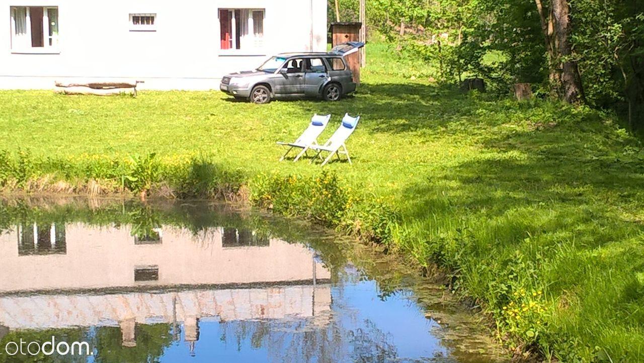 dom,działka,rzeka,koło Nałęczowa,Kazimierz,Lublina