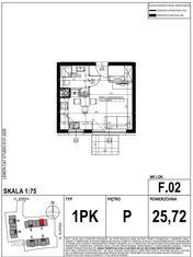 LakeCity. Mieszkanie jednopokojowe (F.02)