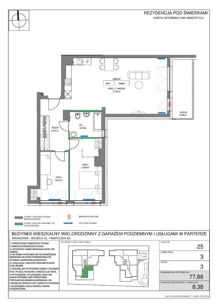 Mieszkanie z dodatkową powierzchnią