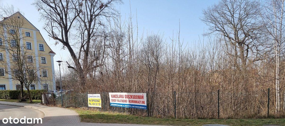 Działka inwestycyjna pod kamienicę centrum Lubań