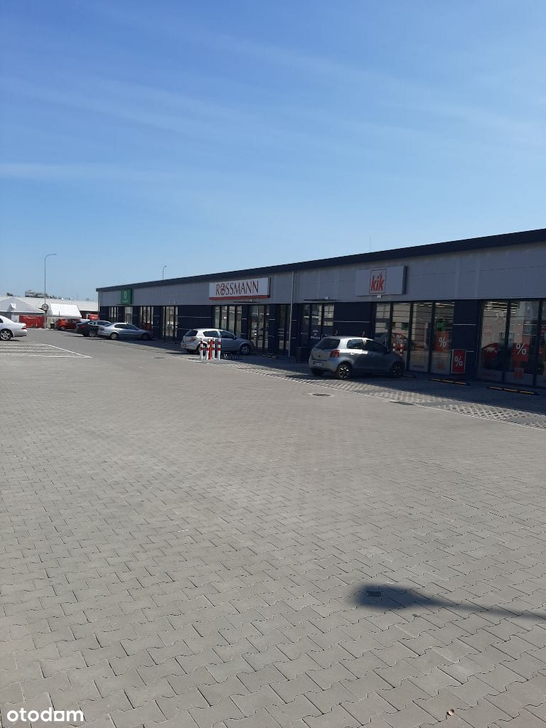 Lokal handlowy/usługowy/gastronomiczny retail park
