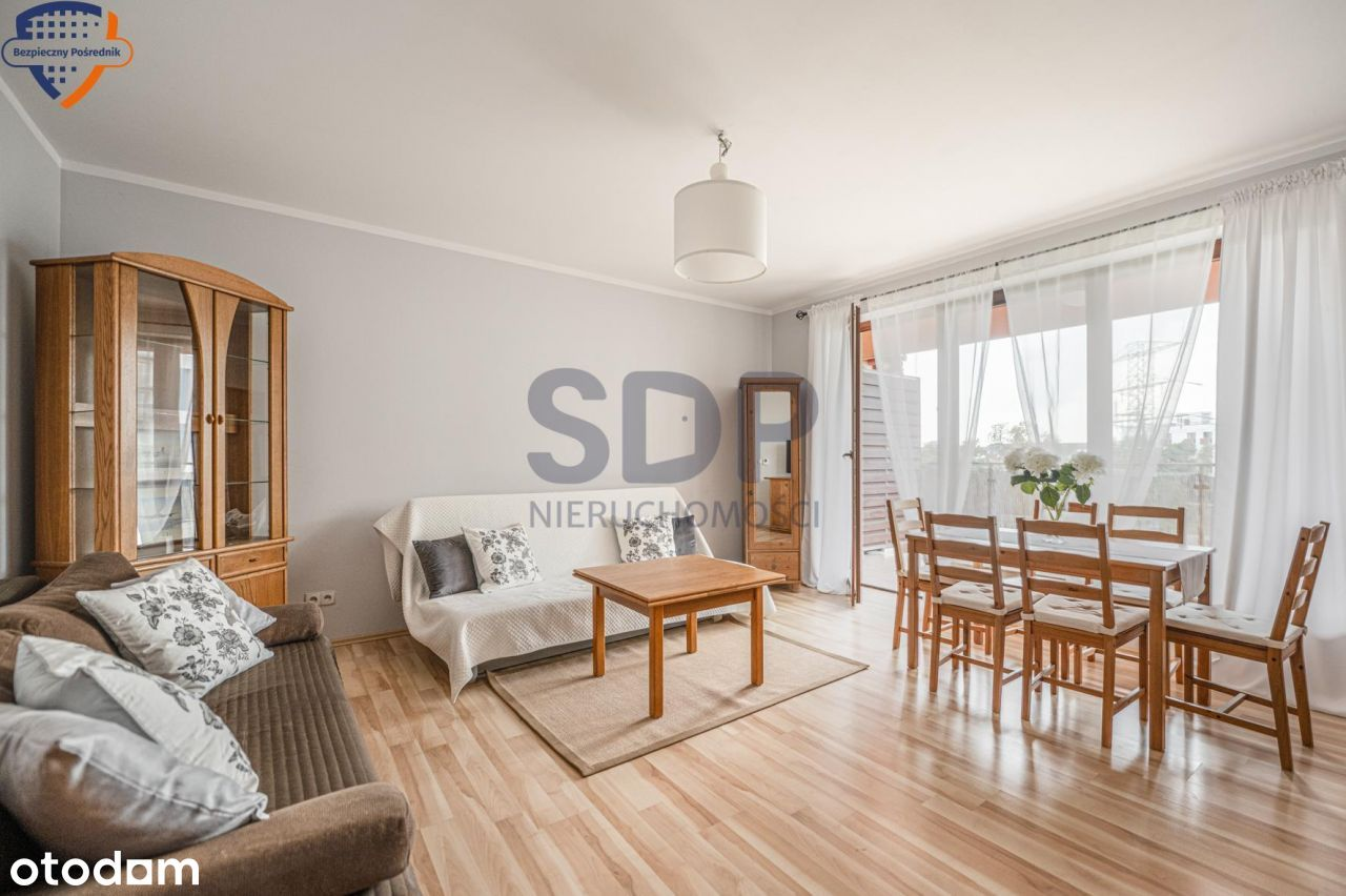 Przestronne mieszkanie w Apartamentach Panorama