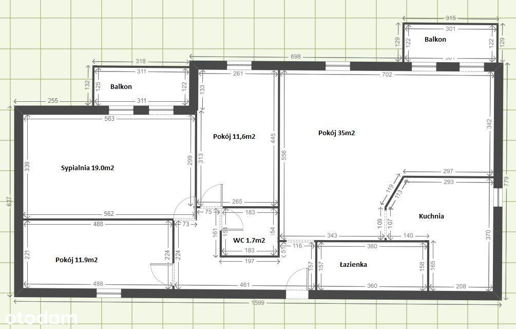 Duże Mieszkanie Dla Rodziny / Bez Pośredników