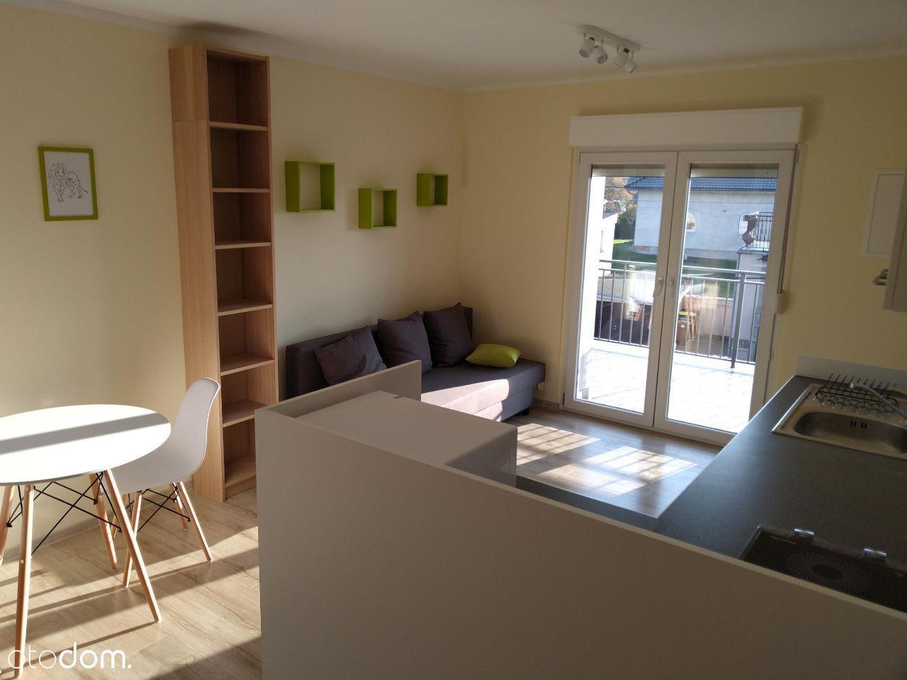 Kawalerka-klima,wysoki standard,balkon,f-ra VAT