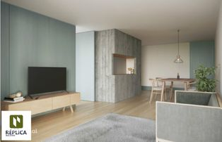 Apartamento T2, orientado a poente