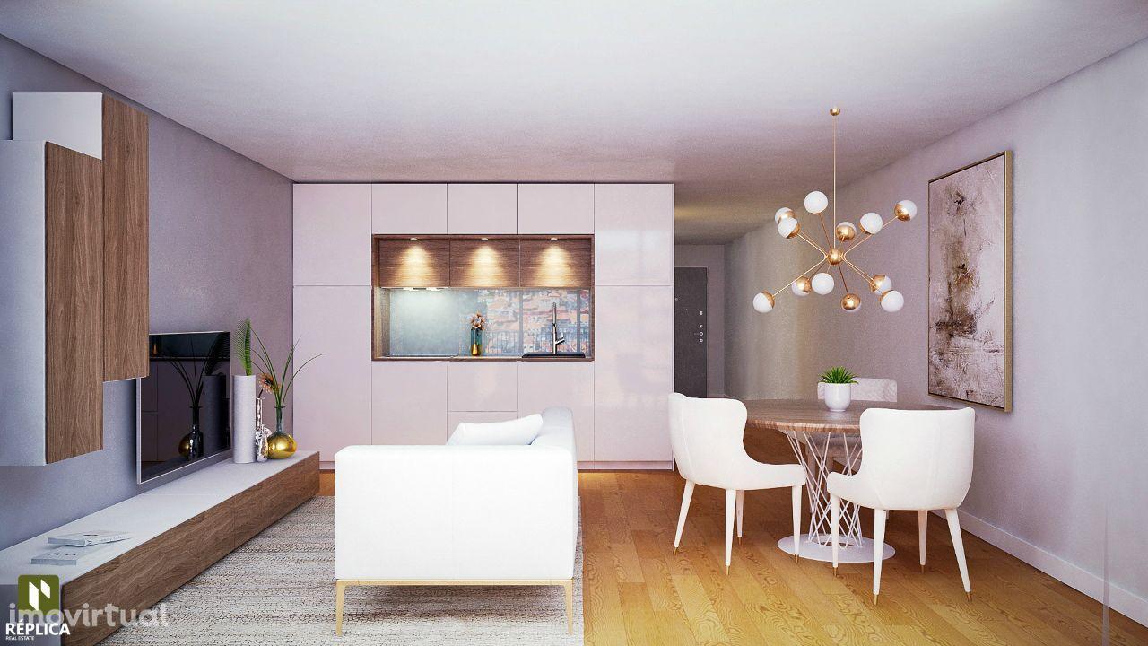Apartamento T2 Duplex NOVO na Baixa Portuense