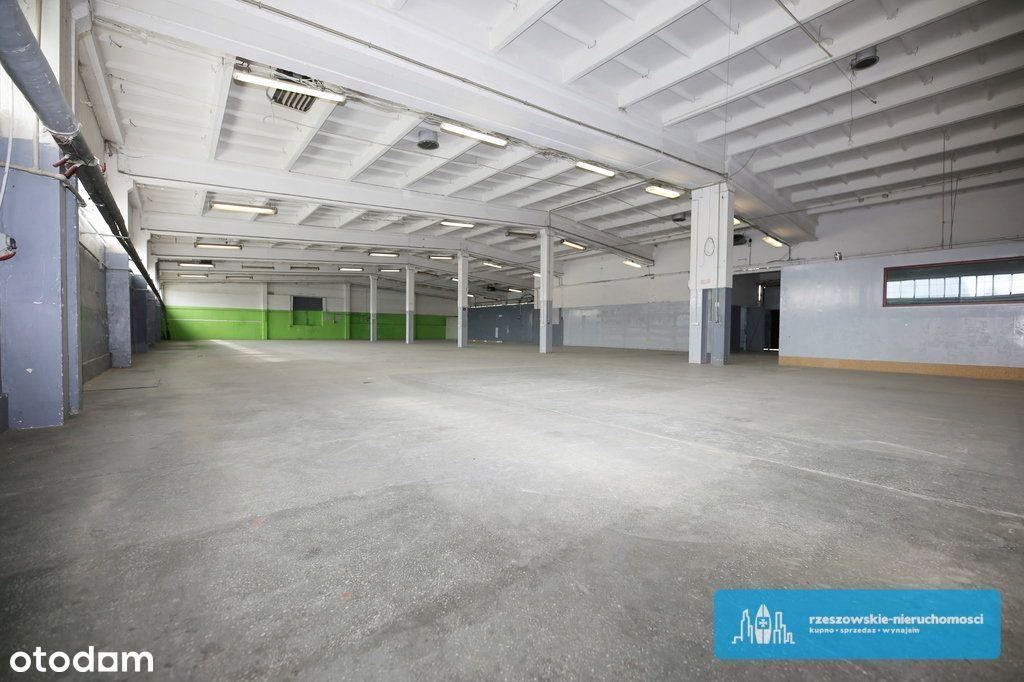 Magazyny 1780 m2 + części biurowo-socjalne 240 m2.