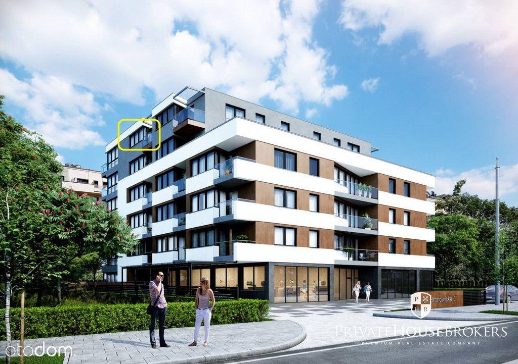 Bronowicka 5, 39.5m²: 2 pokoje w nowej inwestycji