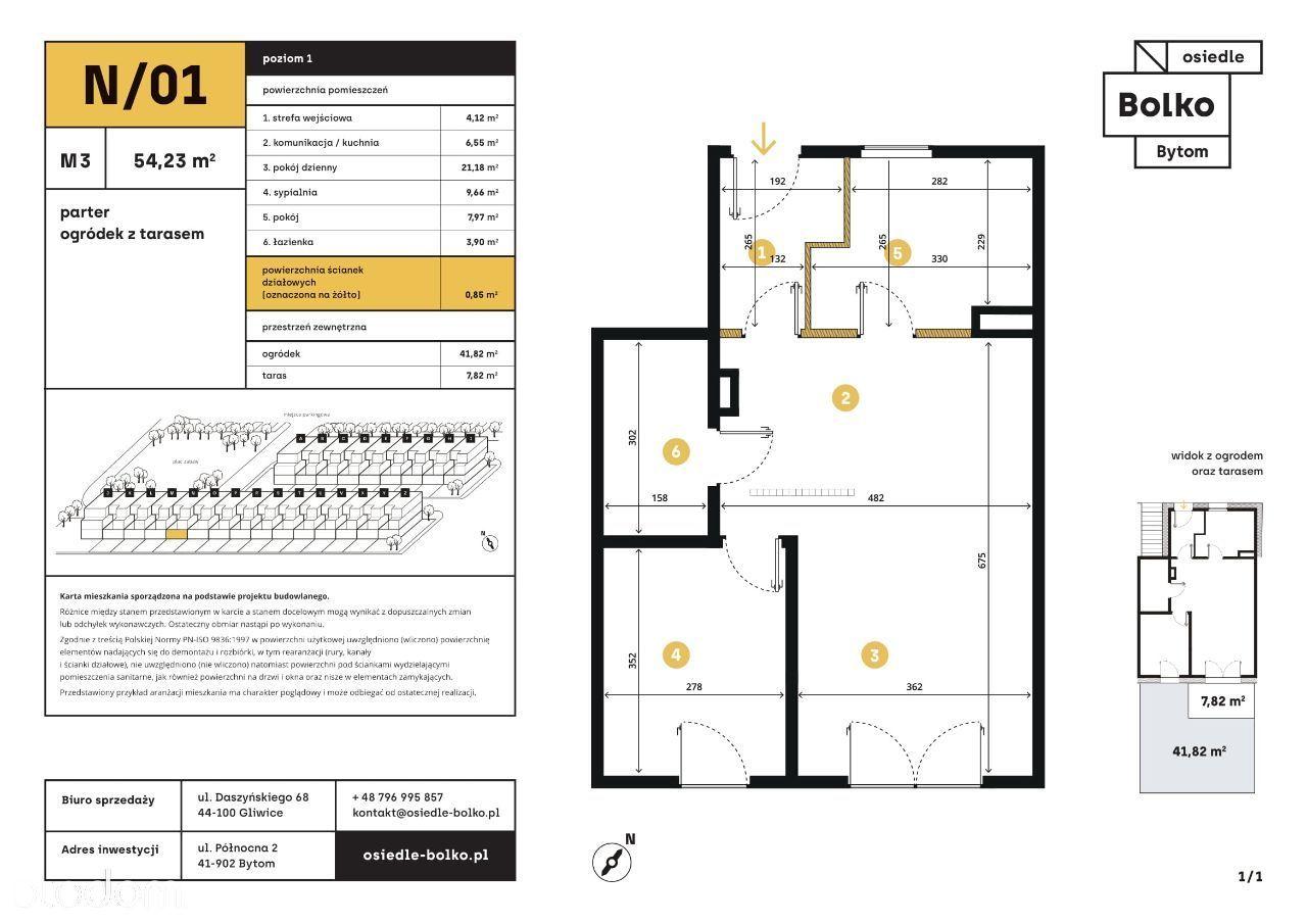 Nowe Mieszkanie 3 - pokojowe / BOLKO etap I