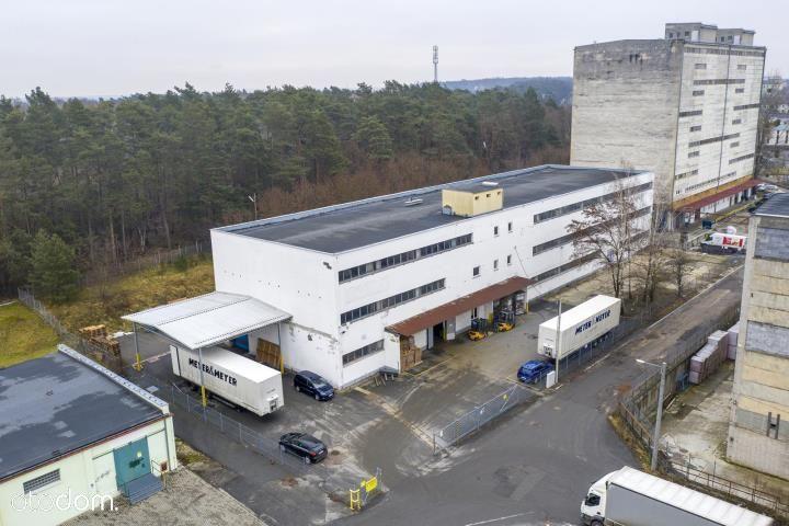 Budynek magazynowy z placem utwardzonym