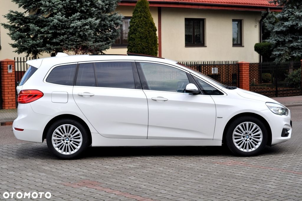 BMW Seria 2 LUXURY Gran Tourer 2.0d 150KM Panorama Kamera Head Up Pamięć Fotela - 14