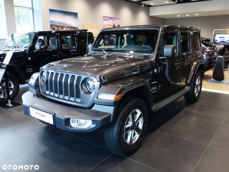 Jeep Wrangler Unlimited Sahara 2.0 Turbo AT8 270KM 3.045zł/mc MIĘKKI DACH AutoPlus - 7