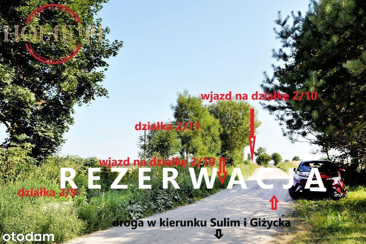 urocza działka Mazury k/Giżycka szlak WJM 5km