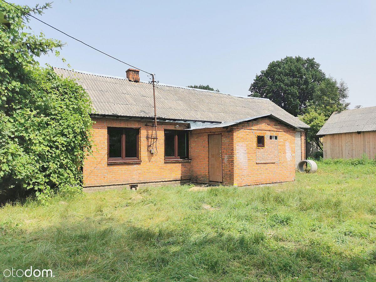 Dom Murowany 45 m2. Działka 2100 m2. Wólka Leszcza