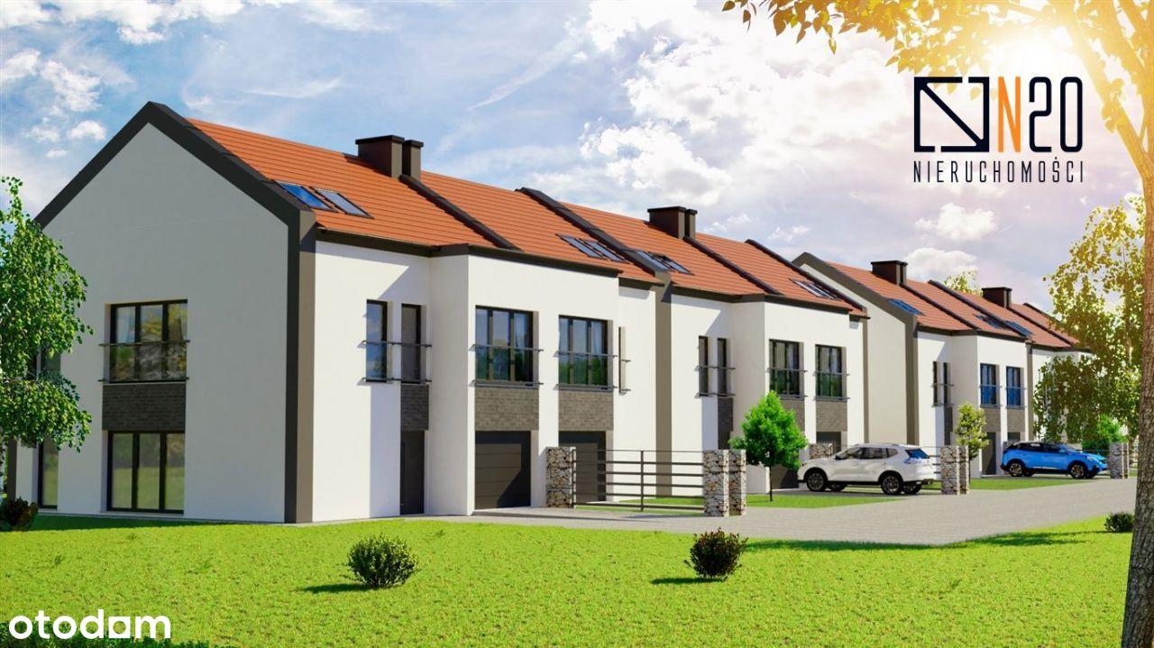 Dębniki - nowe domy w zab. szeregowej