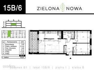 Nowe mieszkanie [15B/6] - osiedle ZIELONA NOWA