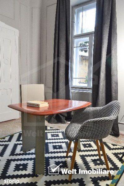 Vanzare apartament 3 camere, lux, terasa, renovat 2020, Centru
