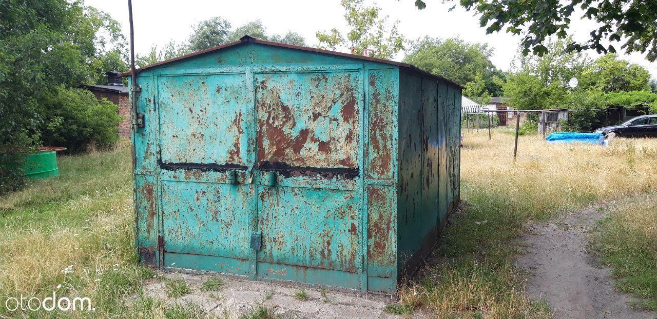 Sprzedam garaż blaszany P-ń Dębiec-Czechosłowacka
