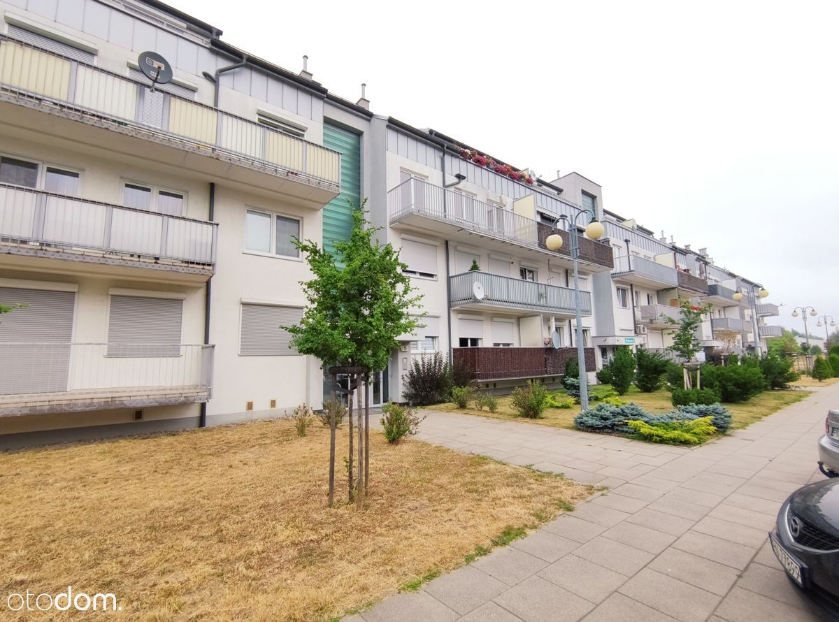 Mieszkanie w stanie deweloperskim, duży balkon