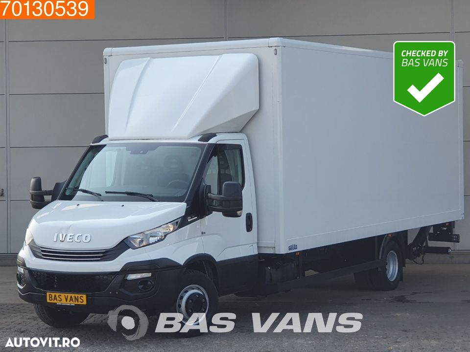 Iveco Daily 72C18 70C18 Euro6 Automaat Bakwagen Koffer Laadklep LBW Luftfederung 35m3 Airco Cruise control - 1