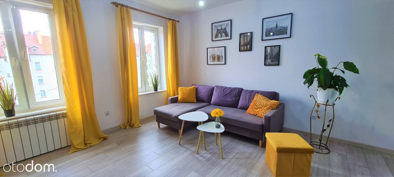 Pięknie urządzone 2-pokojowe mieszkanie - 3 piętro