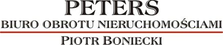 Biuro nieruchomości: PETERS Biuro Obrotu Nieruchomościami Piotr Boniecki