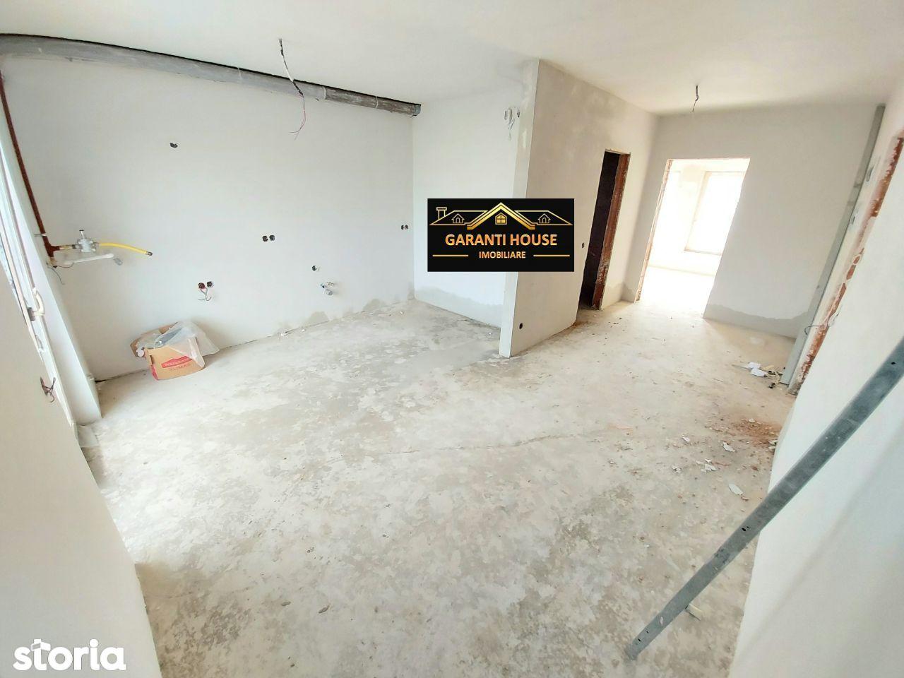 Bloc nou (Zona Pronto), apartament cu o camera, 53.35 mp, 37 000€ neg.