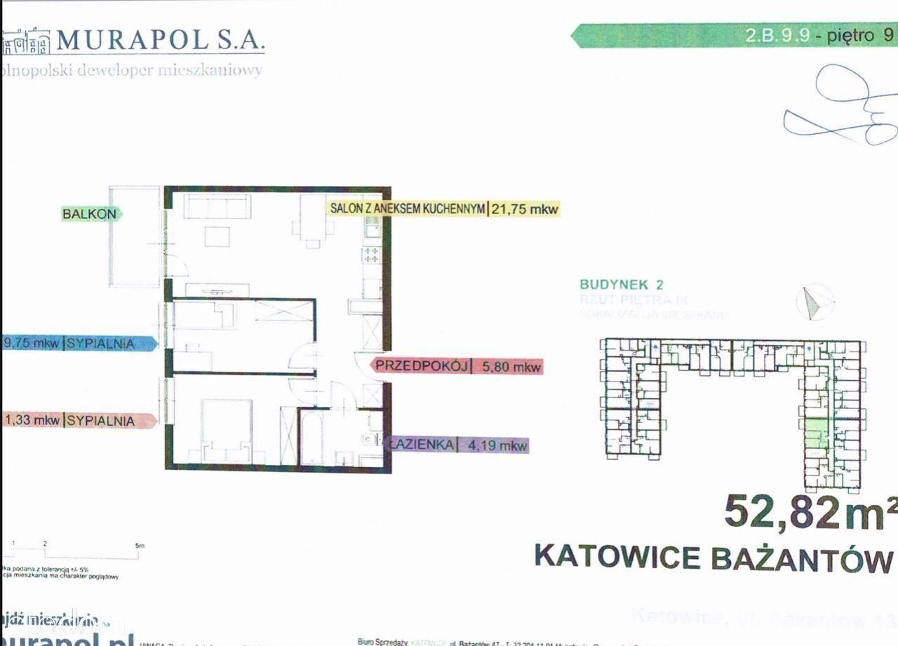 Katowice Bażantów apartament z garażem w cenie