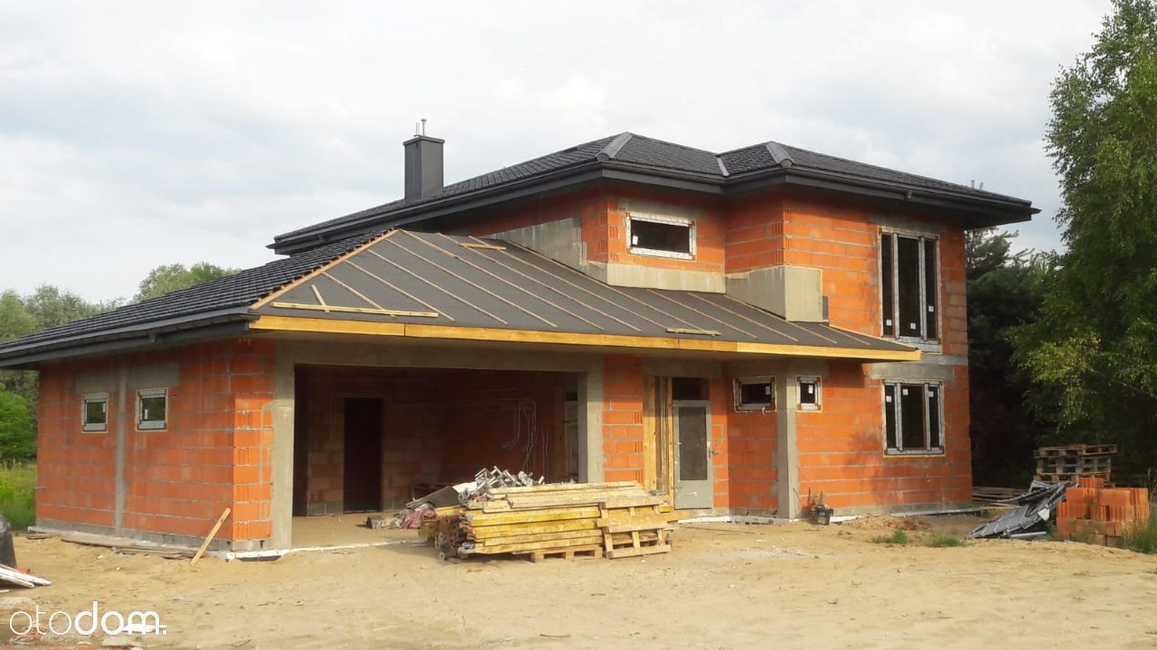 Nowoczesny dom blisko Warszawy Duchnów 180 m2