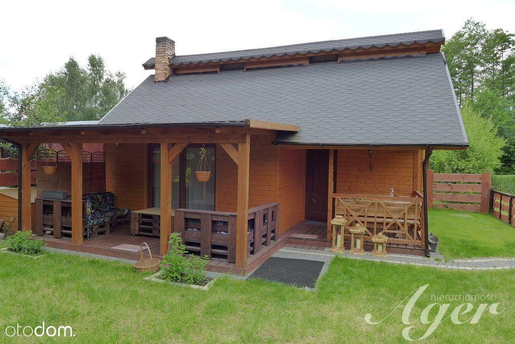 Piękny Dom W Lesie Nad 2Jeziorami