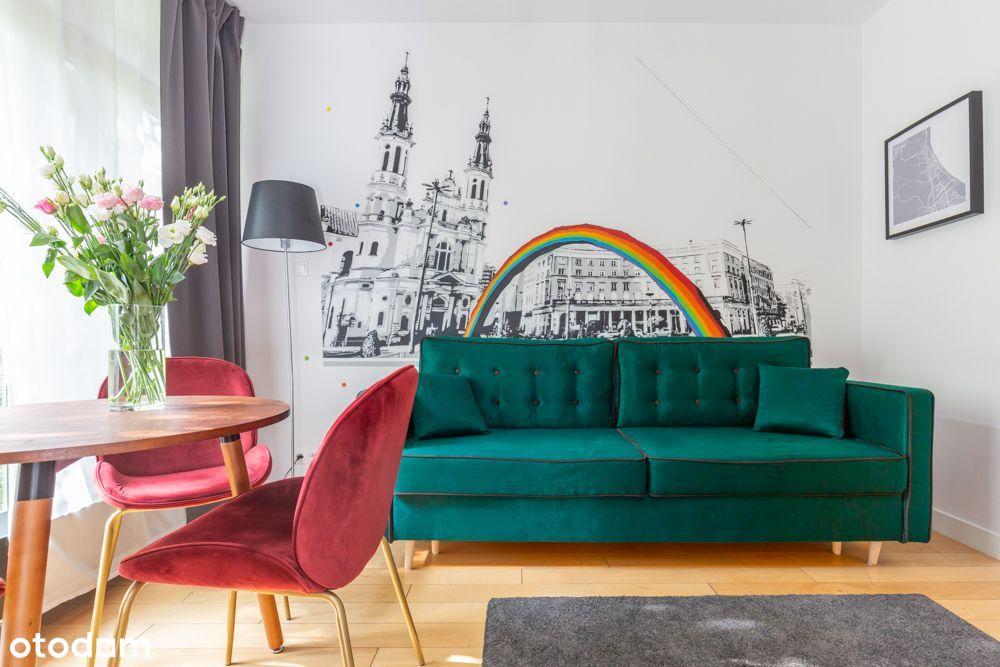 Mini-apartament inwestycyjny / Metro Daszyńskiego