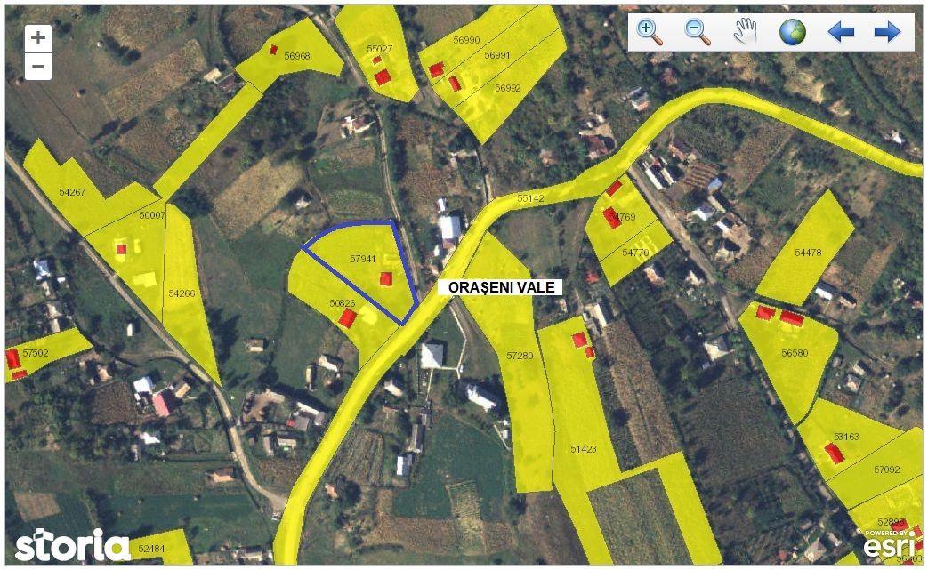Imobiliare Maxim - teren in Oraseni Vale (Botosani)
