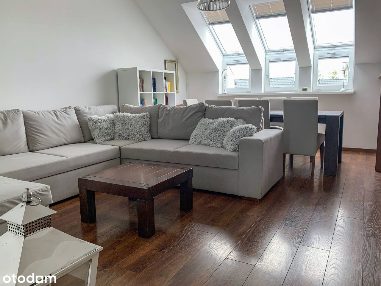 Komfortowe 4 pokojowe mieszkanie w Dąbrówce