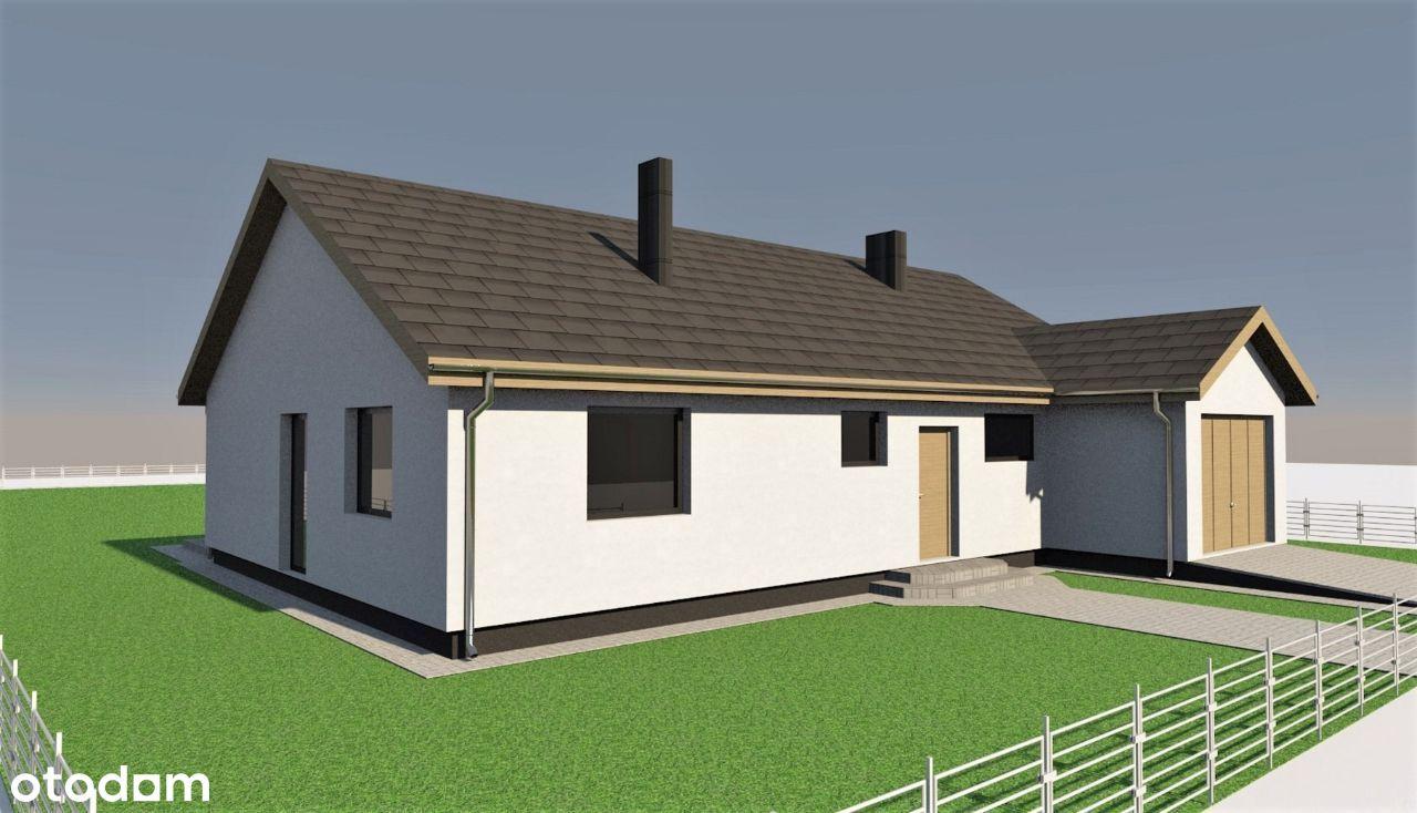 Dom z garażem 121 m2 – Moraczewo, ul. Wiosenna