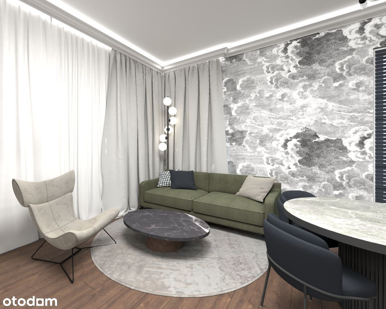 Apartament 3 pokojowy na ul. Wojskowej 7