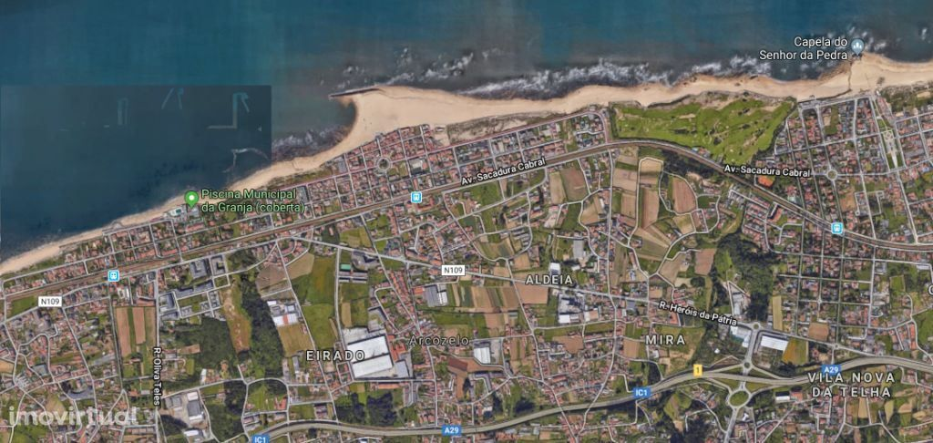 Terreno para Loteamento e construção de moradias em Arcozelo