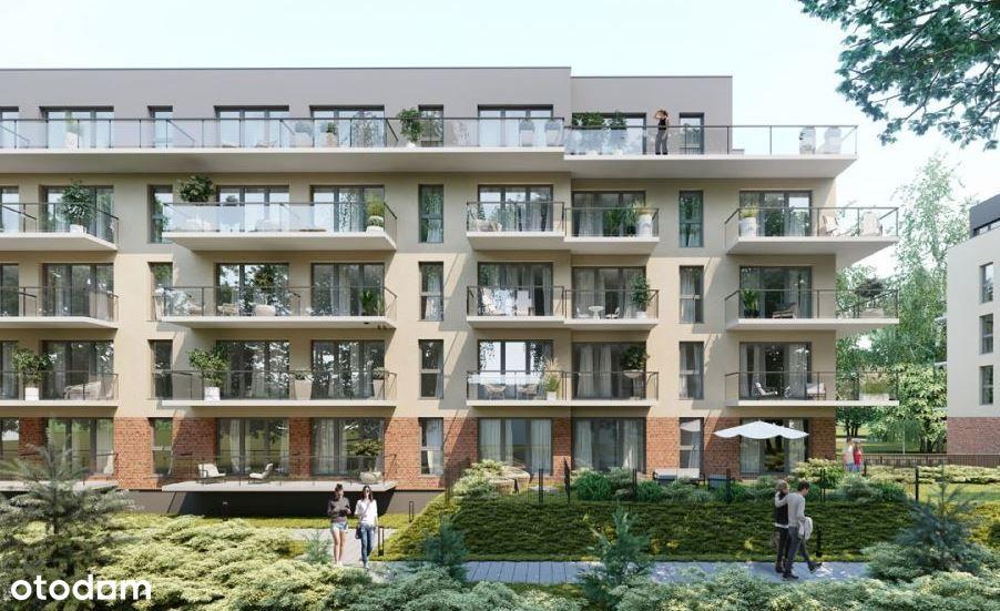 Wygodne mieszkanie w zielonej okolicy + balkon