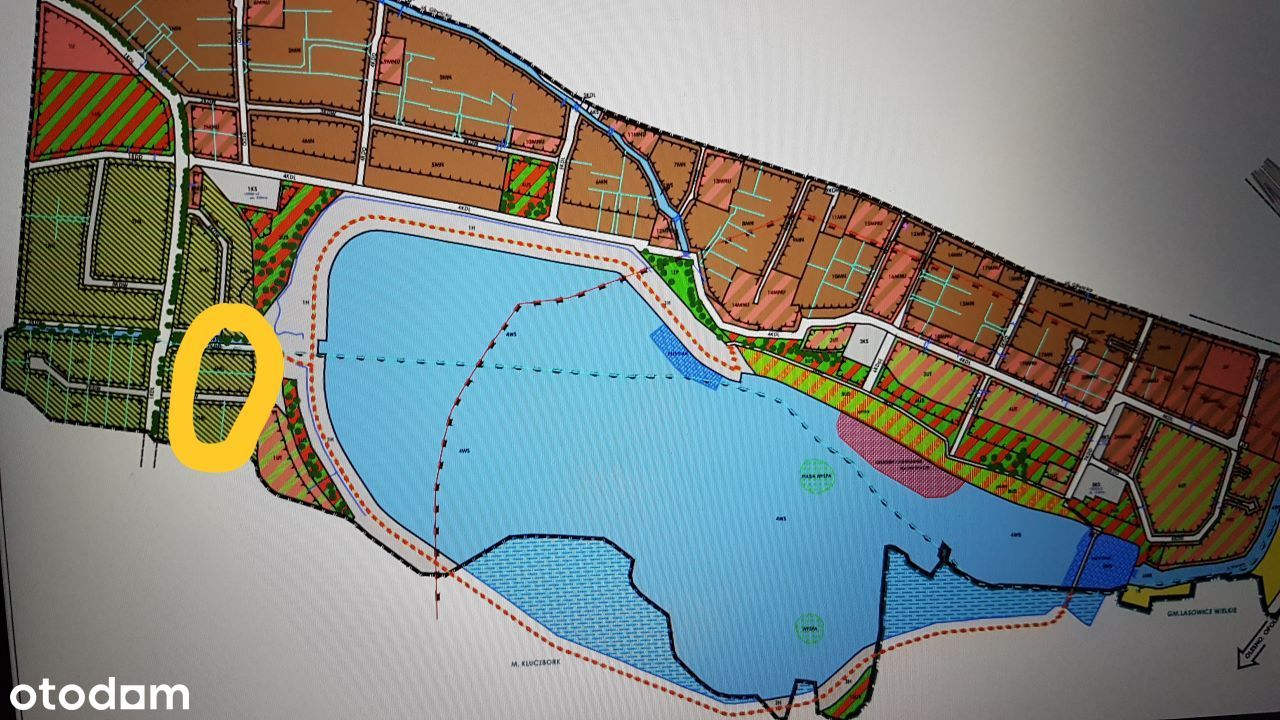 Działka blisko zalewu Ligota Górna 7800 m2