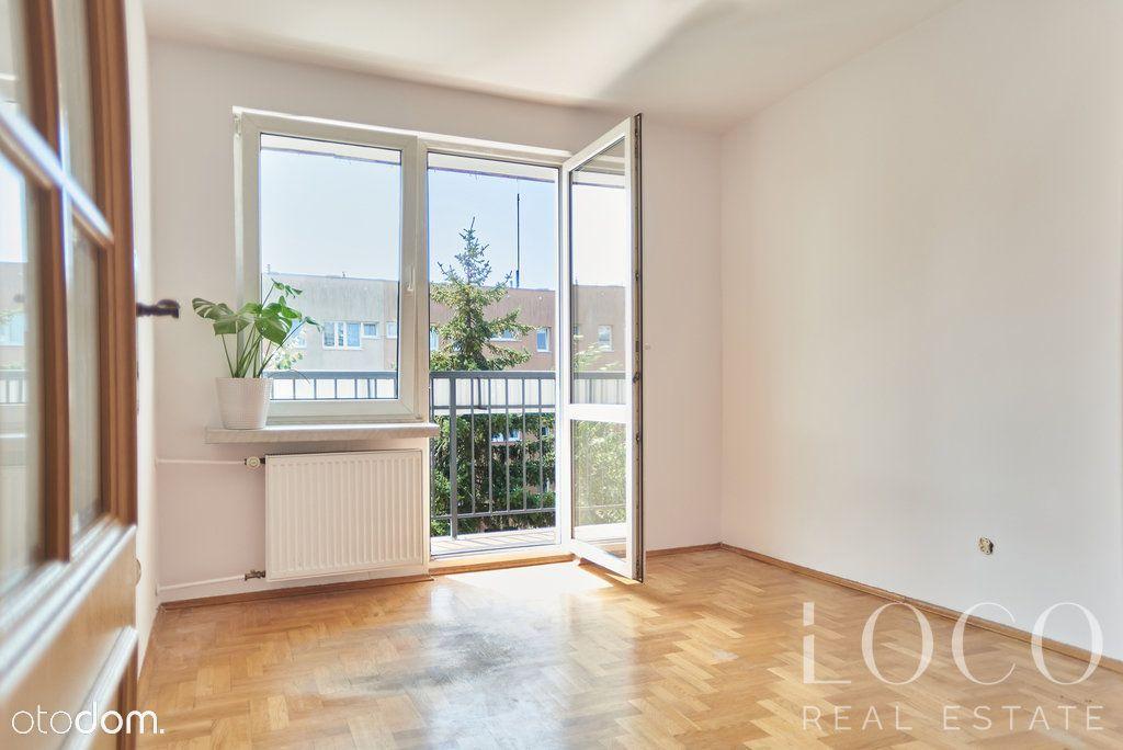 Słoneczne mieszkanie, 3 pokoje, balkon na zieleń