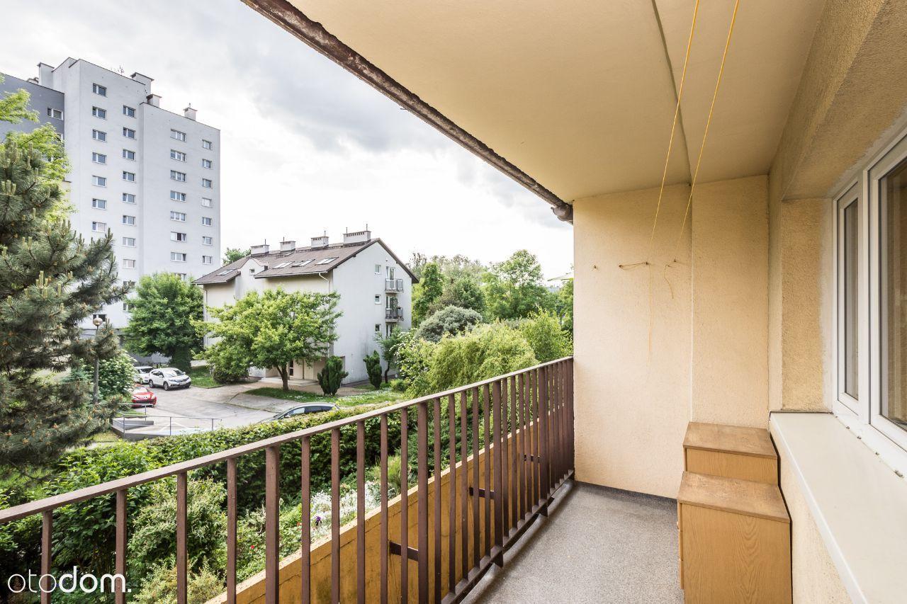 Komfortowe 3 pokoje, oddzielna kuchnia, balkon