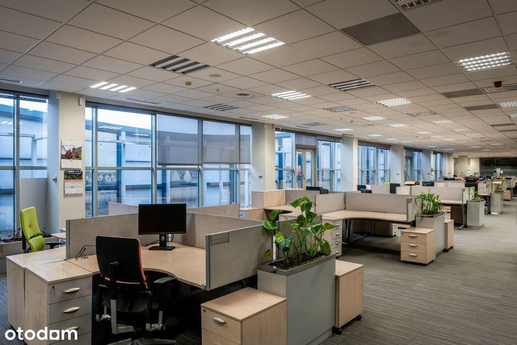 Wykończone biuro przy drodze wylotowej na Katowice