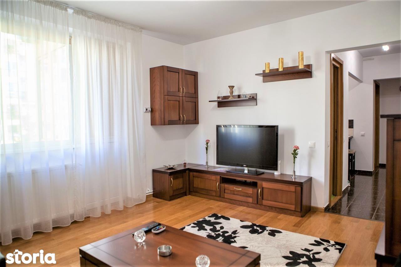 Ap. 3 camere - et. 3/4, balcon, mobilat si utolat   Nicolae Iorga