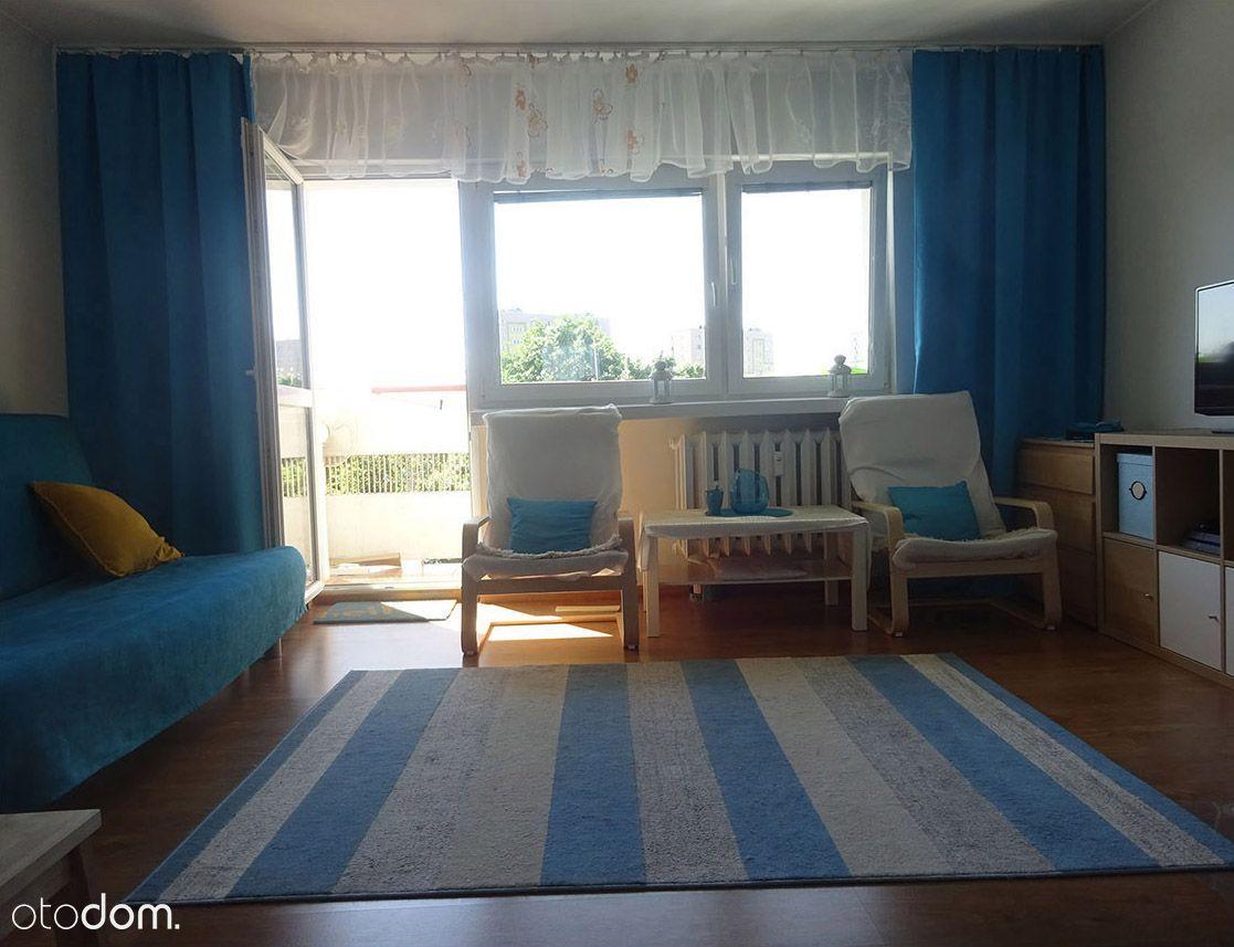 Kawalerka 38m (pokój, kuchnia, łazienka + balkon)
