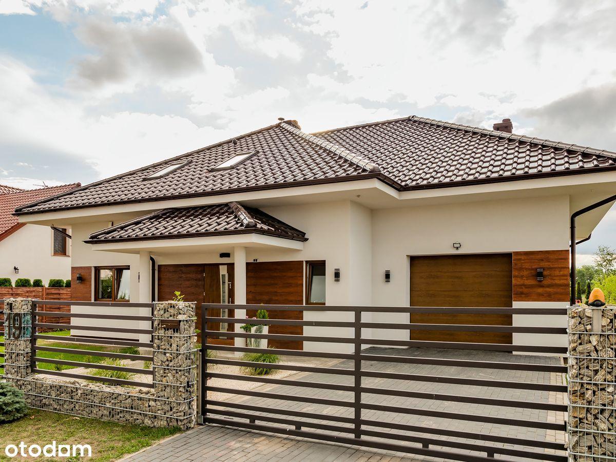 Śliczny duży dom z garażem w Grzebienisku/5 pokoi