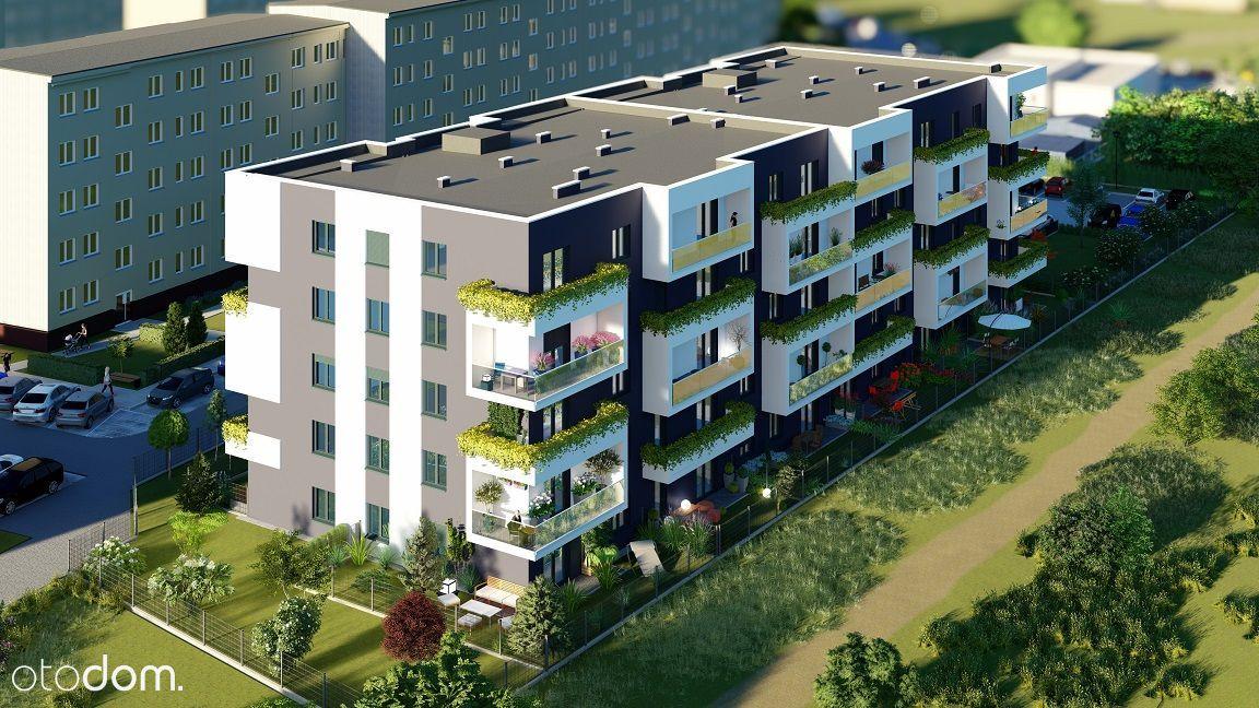 Przestronne 3 pokojowe mieszkanie z ogródkiem