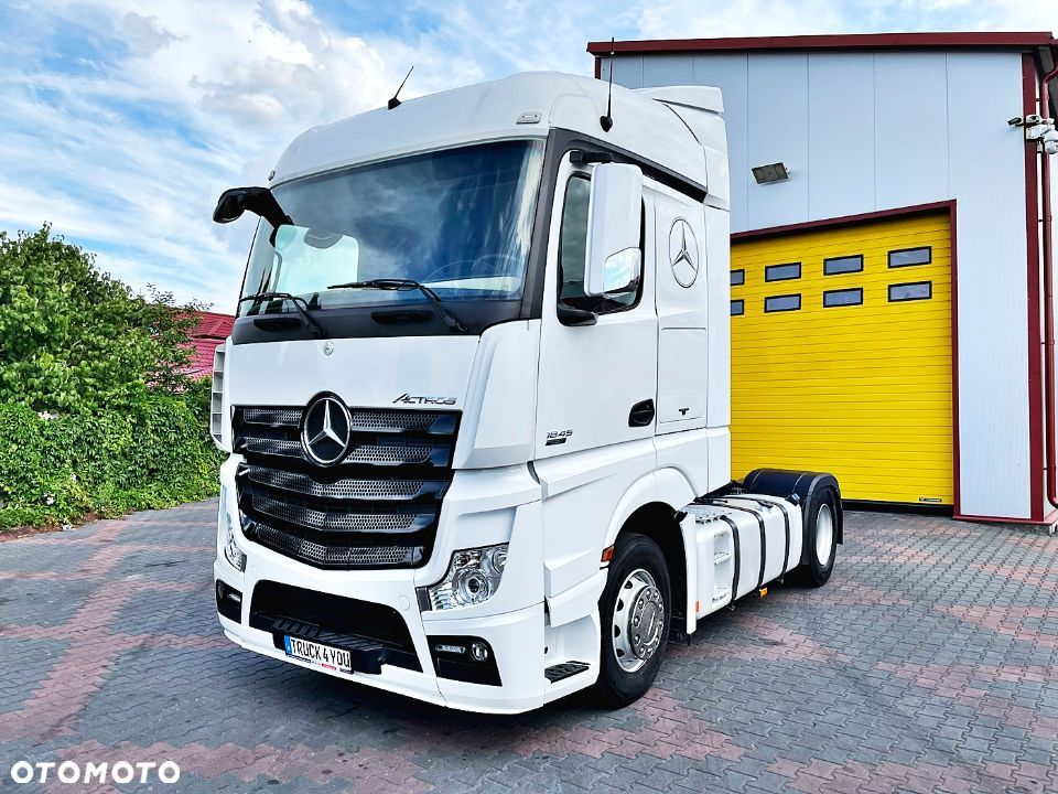 Mercedes-Benz Actros Mp4 1845  MB Actros 1845 / Xenon / Standard / I rejestracja 15/11/2013 - 1