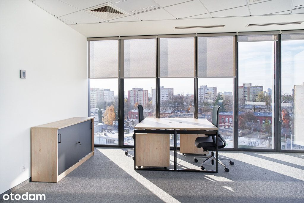 Umeblowane biuro w świetnej lokalizacji dla 4 osób