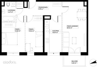 Mieszkanie A28 Harmonia+ Karpia 27