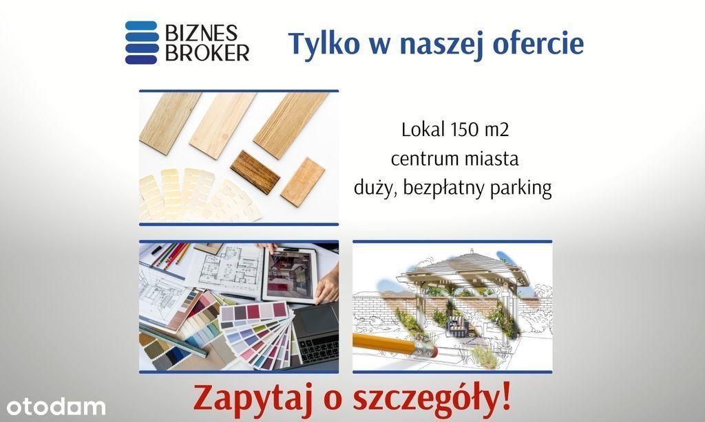Lokal Usługowo-Handlowy 150M2 Z Dużym Parkingiem